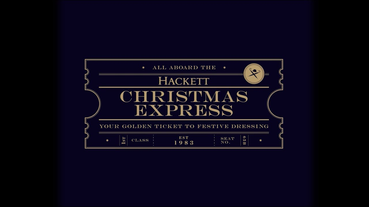 All aboard the Hackett Christmas Express!