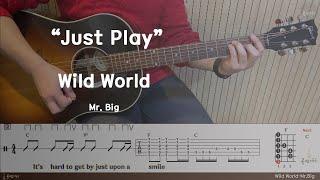 Wild World 커버-Mr Big[연주 l Acou…