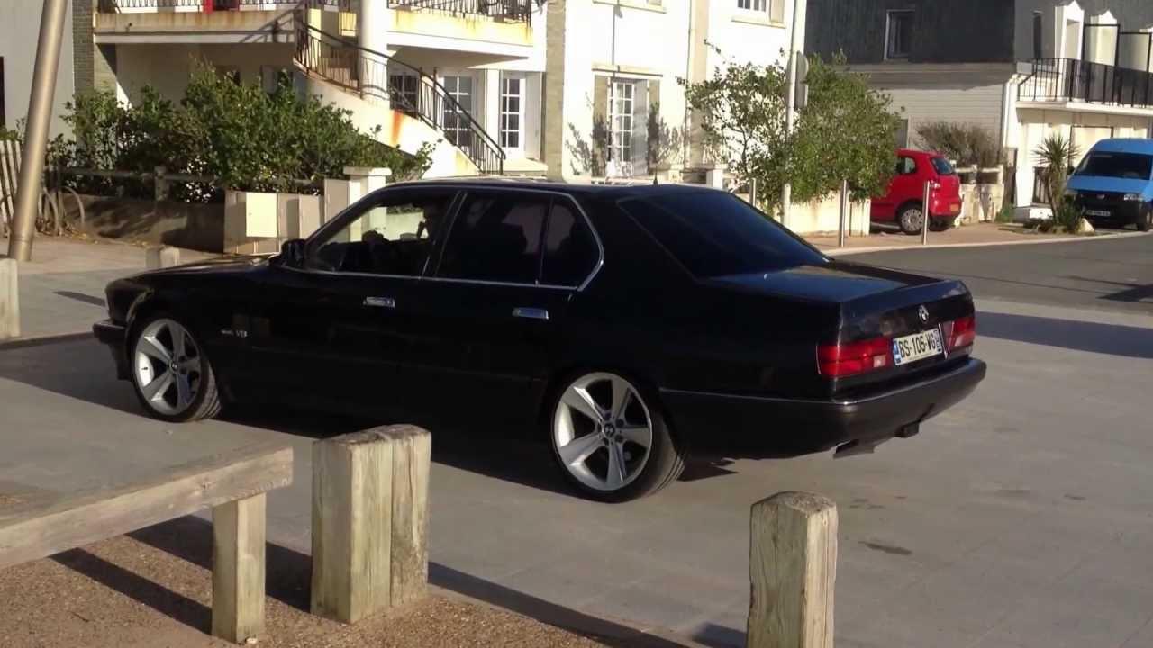 Ma Belle Black Bmw 730i V8 E32 De 93 Burne