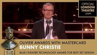 Blue-i Theatre Technology Award for Best Set Design - Olivier Awards 2019 with Mastercard