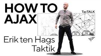 Ajax Amsterdams Trainer Erik ten Hag - Spielweise und Taktik   iM Football