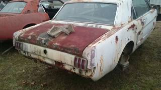 #03 1965 Ford Mustang Coupe No engine no transmission for SALE