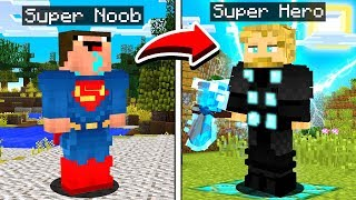 How to MORPH into ANY Minecraft SUPERHERO!