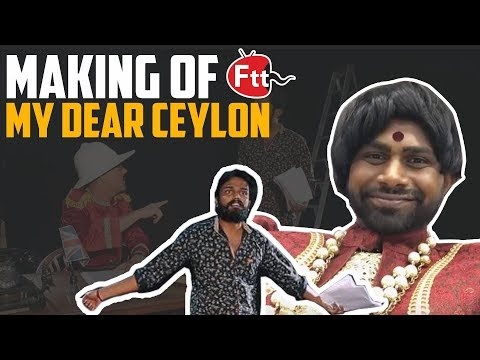 My Dear ceylon - Independence day special - Behind the scenes