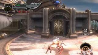 god of war 2 pathway to the steeds titan mode theseus boss part 2