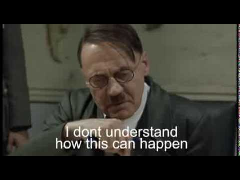Hitler find out Tony Abbott is Australia's new PM