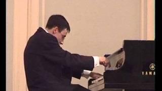 Rachmaninov, sonata No.2 in B flat minor, op. 36. Alexander Kobrin (part 1)
