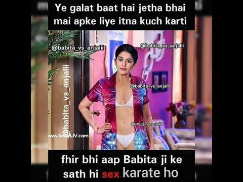 Download TMKOC Anjali , Babita and Sonu hot and sexy memes