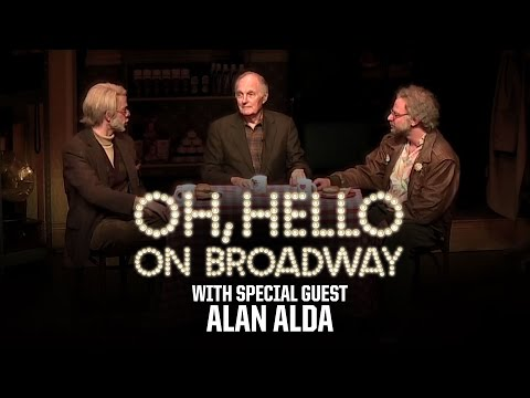 "Alan Alda upstages Nick Kroll and John Mulaney in ""Oh, Hello"""