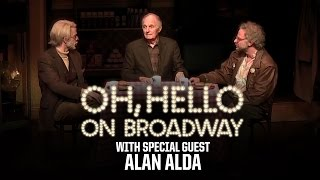 Alan Alda upstages Nick Kroll and John Mulaney in quot;Oh Helloquot;