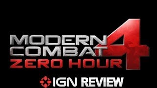 Modern Combat 4 - Video Review