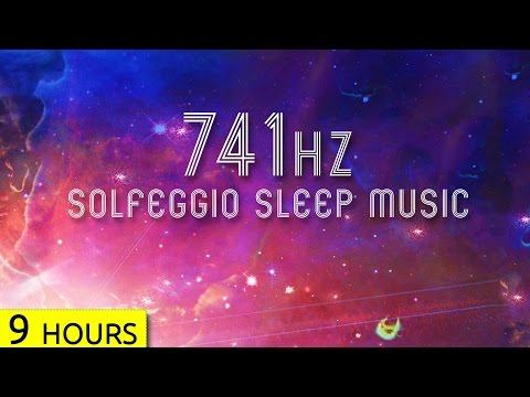 741Hz | Detox Your Body in Sleep | Solfeggio Sleep Meditatio
