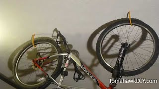 Organize Garage - How To Hang Bikes From The Ceiling