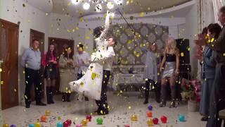 Свадебный супер позитивный танец жениха и невесты.