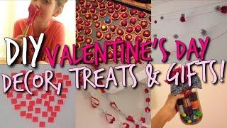Diy: Valentines Day Treats, Gift Ideas + Room Decor!