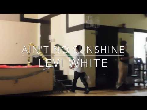 """Levi dancing to """"ain't no sunshine"""" lido mix"""