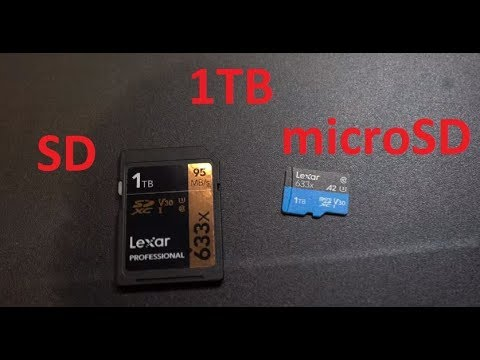 Micro Sd Karte 1tb.Lexar 1tb Sd Card And 1tb Microsd Card