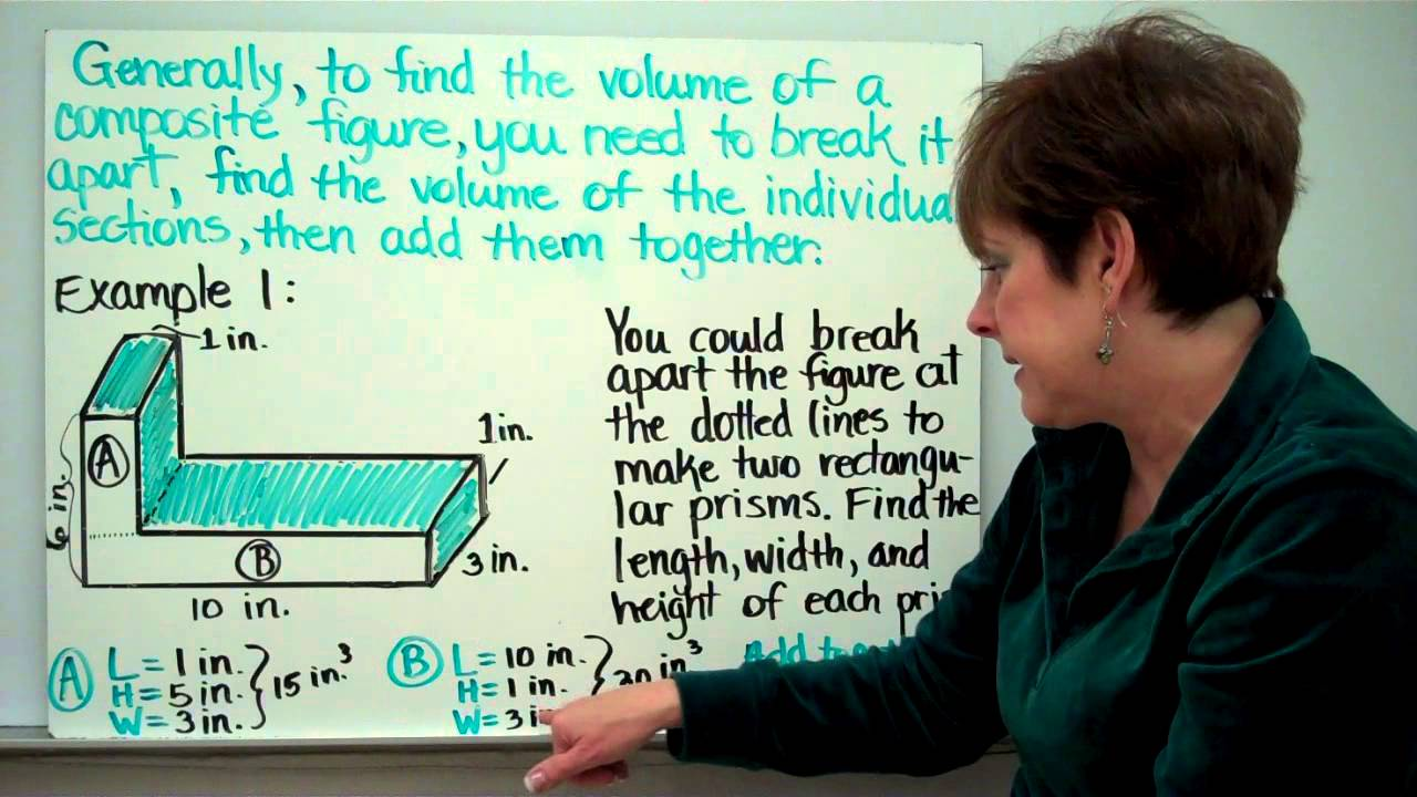 finding the volume of composite figures - Volume Of Composite Figures Worksheet