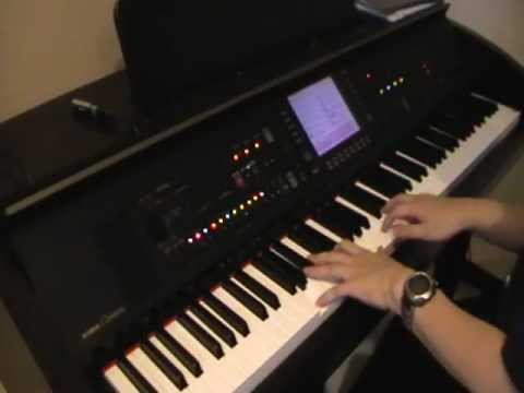 Dia - Sheila Majid (Yamaha Piano CVP Clavinova cover with backup)