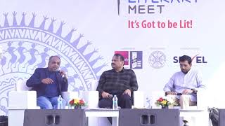 Charles Assisi and NS Ramnath at TSBLM 2019, Day 3