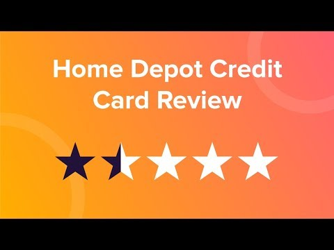 Home Depot Credit Card Review