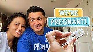 WE'RE HAVING A BABY! (SURPRISE PREGNANCY ANNOUNCEMENT) - Alapag Family Fun