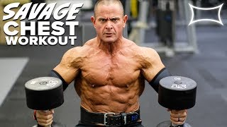 SAVAGE Chest Workout With Mike O