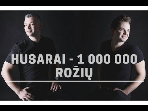 HUSARAI - 1000000 rožių