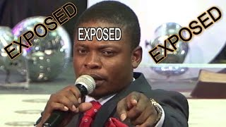 False prophet Shepherd Bushiri - Exposed Again