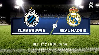 PREVIEW | Club Brugge vs Real Madrid