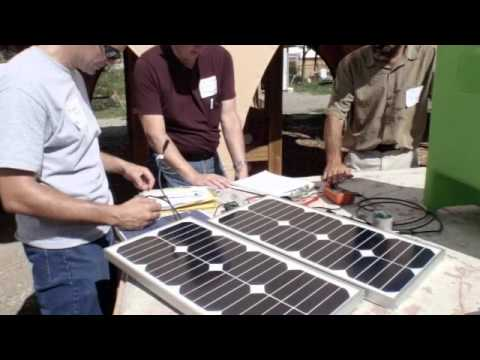 Solar Training - SEI PV Lab Class Paonia, Colorado
