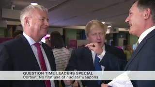 Boris Johnson squares up to Ian Lavery and promptly backs down! thumbnail