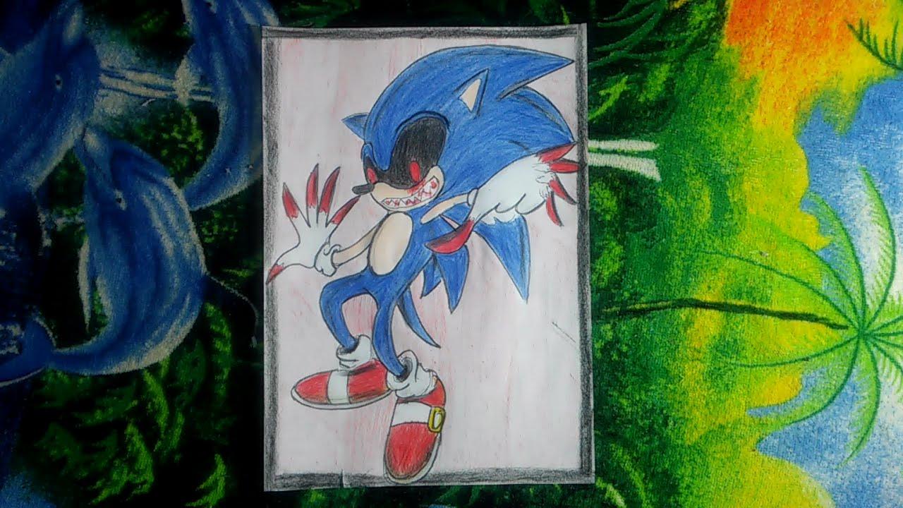 Dibujos De Sonic Exe Unifeed Club