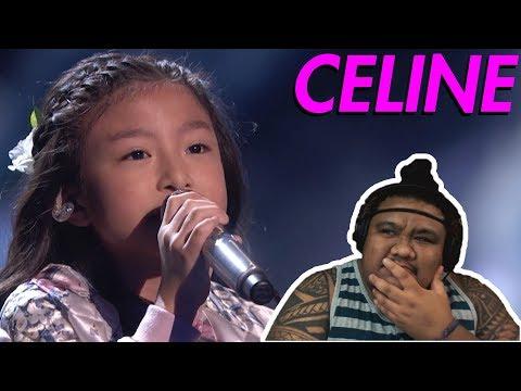 Celine Tam - How Far I'll Go (America's Got Talent) [MUSIC REACTION]