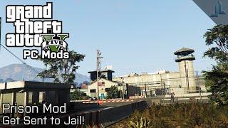 GTA V PC Mods: Prison Mod v0.1 | Get Sent To Prison