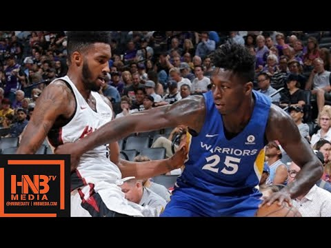 Miami Heat vs Golden State Warriors Full Game Highlights / July 2 / 2018 NBA Summer League