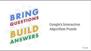 Google Practice Algorithm Puzzle