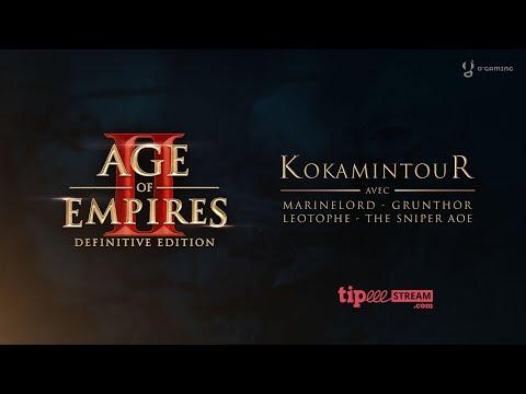 Kokamintour - MarineLord vs The Sniper - Age of Empires 2
