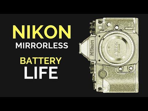 Nikon MIRRORLESS Battery Life