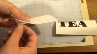 Episode 4 -- How to cut Vinyl with your Cricut - Lets Cricut Vinyl Challenge | LetsCricut.com