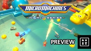 Micro Machines: World Series - Preview