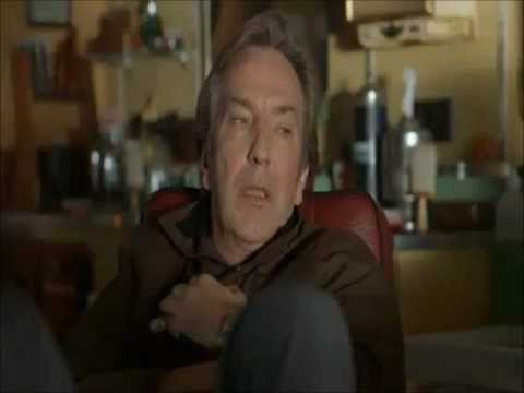alan rickman in blow dry clips part 2 youtube