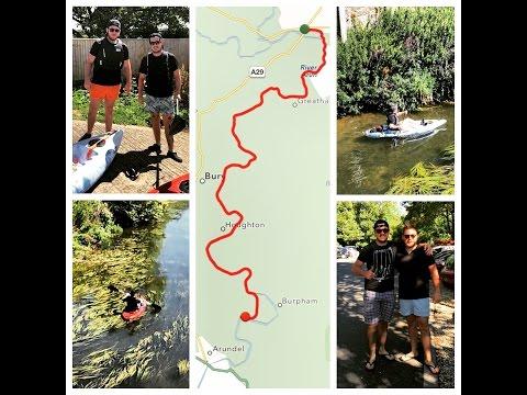 Kayaking Along The Arun River