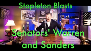Stapleton Blasts Senators