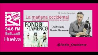 Entrevista a @FondoFlamenco_  en @Radio_Occidente #Huelva 94.6 Fm
