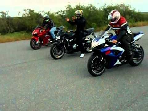 Kawasaki Z750 Vs Honda Cbr Youtube