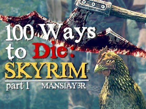 100 Ways to Die in Skyrim (Part 1)