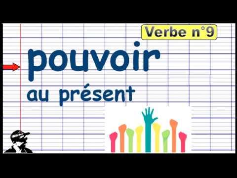 Conjuguer Le Verbe Pouvoir Au Present 2019 Youtube