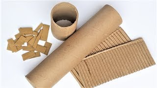 5 Wonderful DIY From Waste Material | Easy and Useful Cardboard Roll Craft