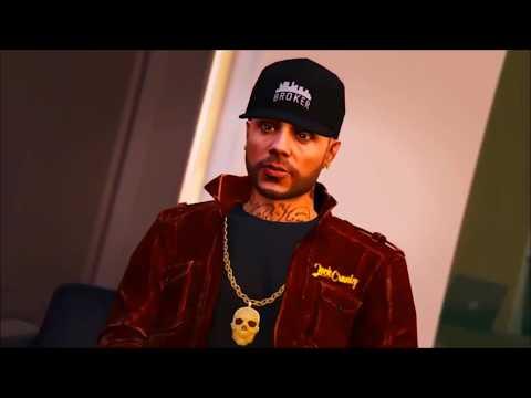 Post Malone Feat. Nicky Jam & Ozuna - Rockstar Latin Remix Version GTAV